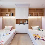 现代简约风格甜美可爱儿童房装修效果图赏析