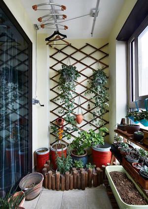 现代风格阳台花园设计装修实景图赏析