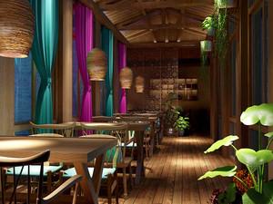 东南亚风格精致餐厅装修效果图赏析