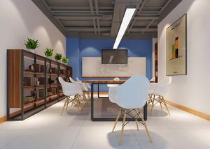 现代风格精致小型会议室装修效果图