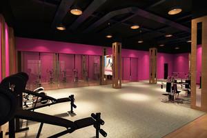 现代简约健身房装修效果图赏析
