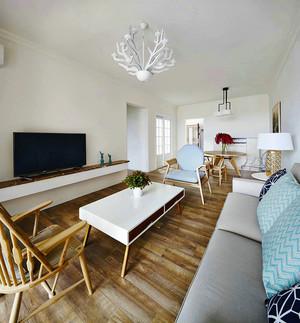 69平米北欧风格简约一居室装修效果图赏析