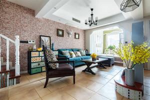 150平米混搭风格精美复式楼室内装修效果图赏析