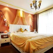 混搭风格中性暖色卧室装修效果图赏析