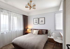 24平米简欧风格浅色卧室装修效果图