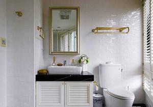 北欧风格白色卫生间装修效果图赏析