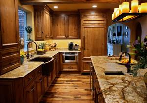 美式风格大户型精致厨房装修效果图赏析