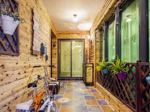 154平米美式乡村风格大户型室内装修效果图
