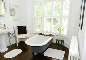 欧式风格别墅室内卫生间装修效果图