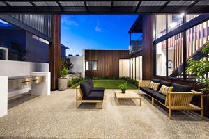 360平米现代风格精致别墅室内装修效果图案例