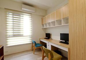 8平米宜家风格简约小书房装修效果图