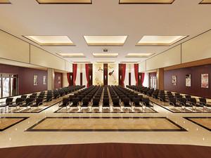 中式风格酒店会议厅装修效果图赏析