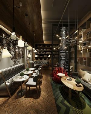 后现代风格精致咖啡厅装修效果图赏析