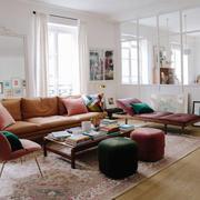 北欧风格简约大户型客厅设计装修效果图赏析