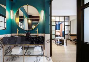 后现代风格时尚卫生间浴室柜装修效果图赏析