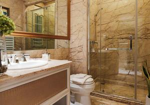 简欧风格精致卫生间瓷砖装修效果图赏析