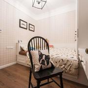 美式风格精致榻榻米卧室装修效果图赏析