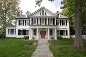 欧式风格精美别墅外观设计装修实景图欣赏