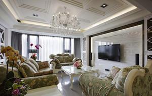 155平米欧式风格精装大户型室内装修效果图