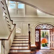 欧式风格精致别墅楼梯装修效果图赏析