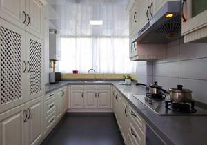 欧式风格精美整体厨房装修效果图欣赏