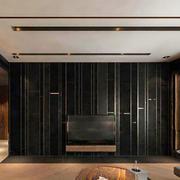 现代风格精致大户型精致客厅电视背景墙装修效果图