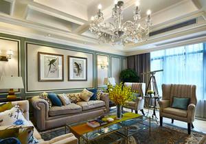 新古典主义风格大户型精致客厅装修效果图赏析