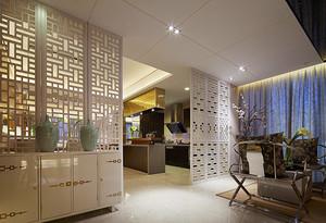 156平米新中式风格精致大户型室内装修效果图