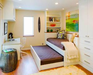 12平米现代简约风格儿童房装修效果图赏析