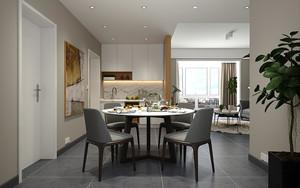 67平米后现代风格一居室室内装修效果图赏析