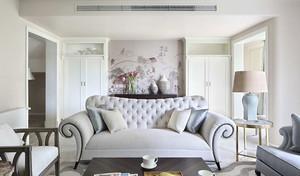 100平米混搭风格浅色温馨室内装修效果图赏析
