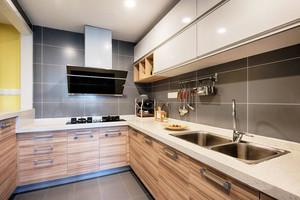 简约风格两居室室内整体厨房装修效果图