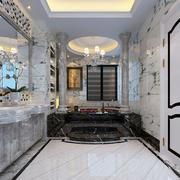 欧式风格大户型精致奢华卫生间装修效果图