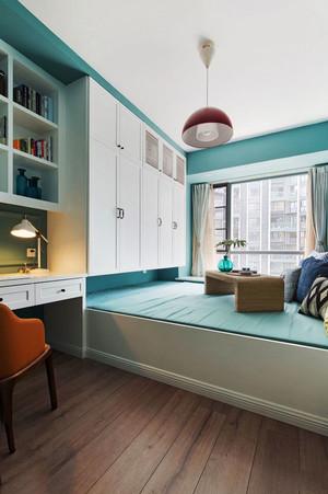 清新风格精美榻榻米卧室装修效果图赏析