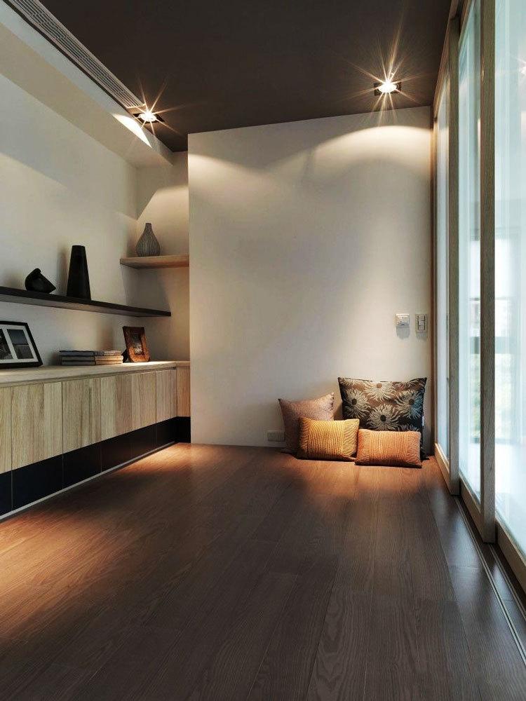日式风格简约精致榻榻米卧室装修效果图