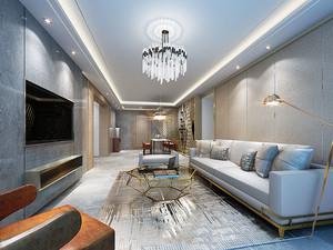 82平米现代风格精致两室两厅室内装修效果图赏析