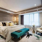 新古典主义风格大户型卧室装修效果图赏析