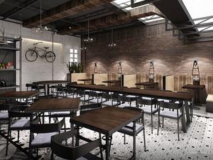 后现代风格精致餐厅装修效果图赏析