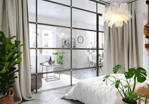 64平米北欧风格清新简约单身公寓装修效果图
