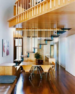 67平米现代风格精致loft装修效果图赏析