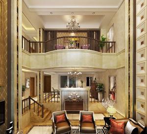 328平米欧式风格精致奢华别墅室内装修效果图