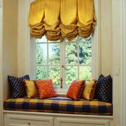 美式风格别墅室内家庭飘窗设计装修效果图鉴赏