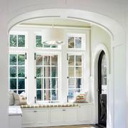 欧式风格精致别墅室内进门玄关装修效果图