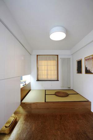 日式风格简约榻榻米装修效果图欣赏