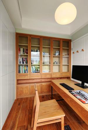 91平米现代风格时尚创意三室两厅室内装修效果图