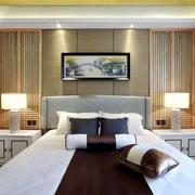 新中式风格精致雅致卧室装修效果图赏析