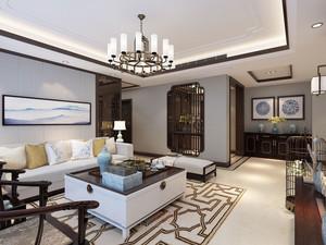 中式风格精致又典雅客厅装修效果图赏析