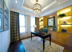 129平米混搭风格奢华精致三室两厅室内装修效果图