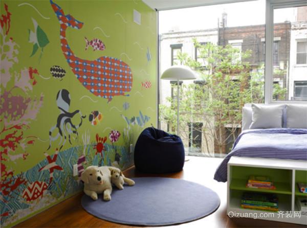 简约风格时尚可爱儿童房装修效果图赏析