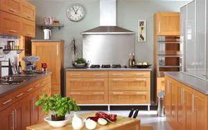 美式风格整体厨房装修效果图赏析